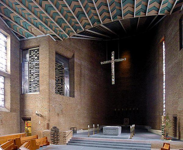 Meschede | Abteikirche | Innenraum | Foto: Archiv Klais, 2016