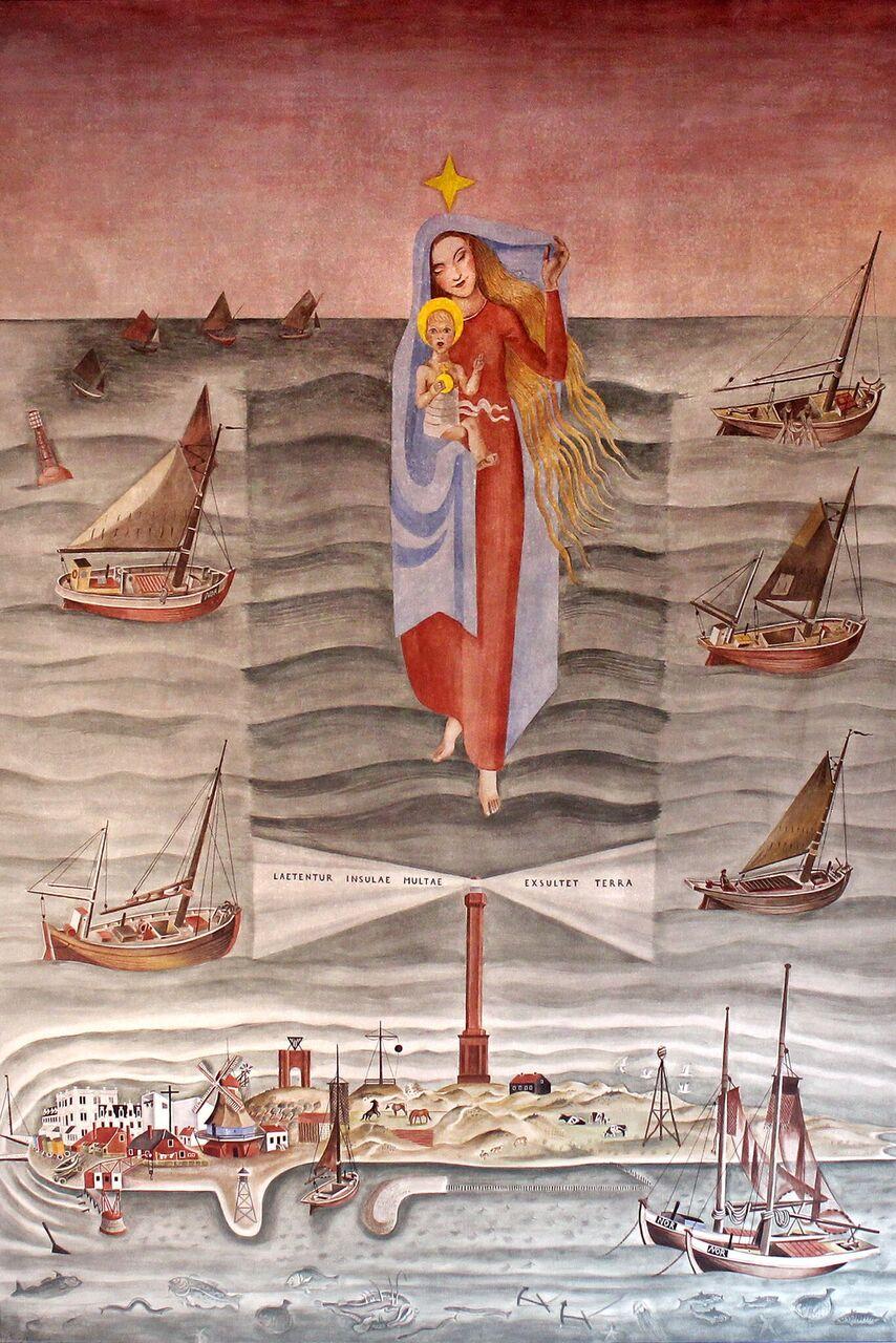 Norderney | Stella Maris | Altarbild | Foto: Nicol Zimmermann, Düsseldorf