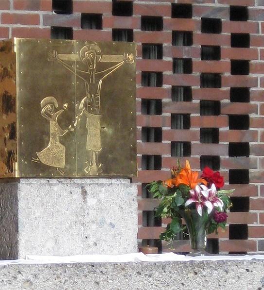 München | St. Johann von Capistran | Tabernakel | Foto: Karin Berkemann, kirchenkunst.info