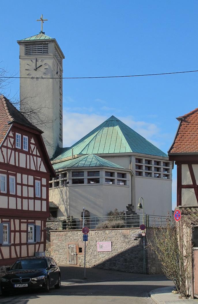 Frankfurt am Main | Gustav-Adolf-Kirche | Außenbau | Foto: Daniel Bartetzko