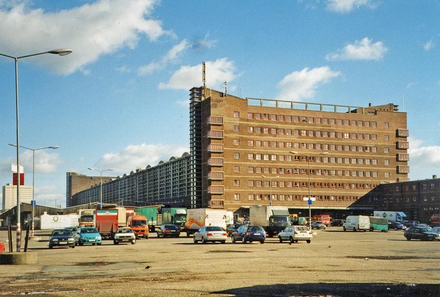 Frankfurt am Main | Großmarkthalle im Jahr 2002 | Foto: Christos Vittoratos, CC BY SA 4.0