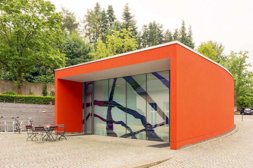 Schwerte | Kapelle von Haus Villigst | Außenbau | Foto: Martina Chardin