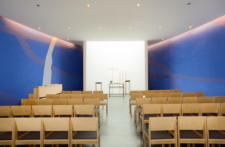 Schwerte | Kapelle von Haus Villigst | Innenraum | Foto: Martina Chardin