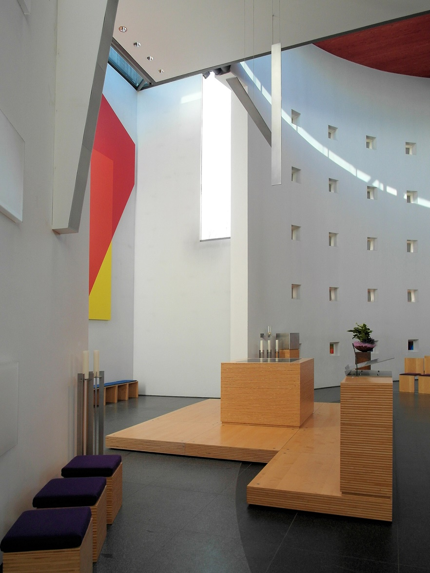 Ulm | St. Klara | Altarraum | Foto: Daniel Greb