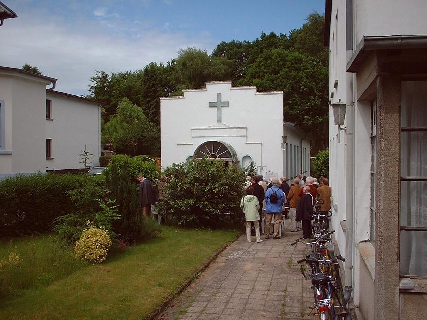 Binz | Stella Maris | Kapelle vor dem Umbau | Foto: Arnd Franke, gemeinfrei, 2009