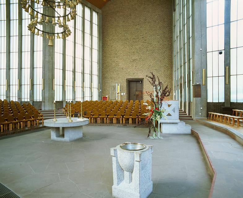Düren | Christuskirche | Innenraum | Foto: LVR-Amt für Denkmalpflege im Rheinland, Jürgen Gregori