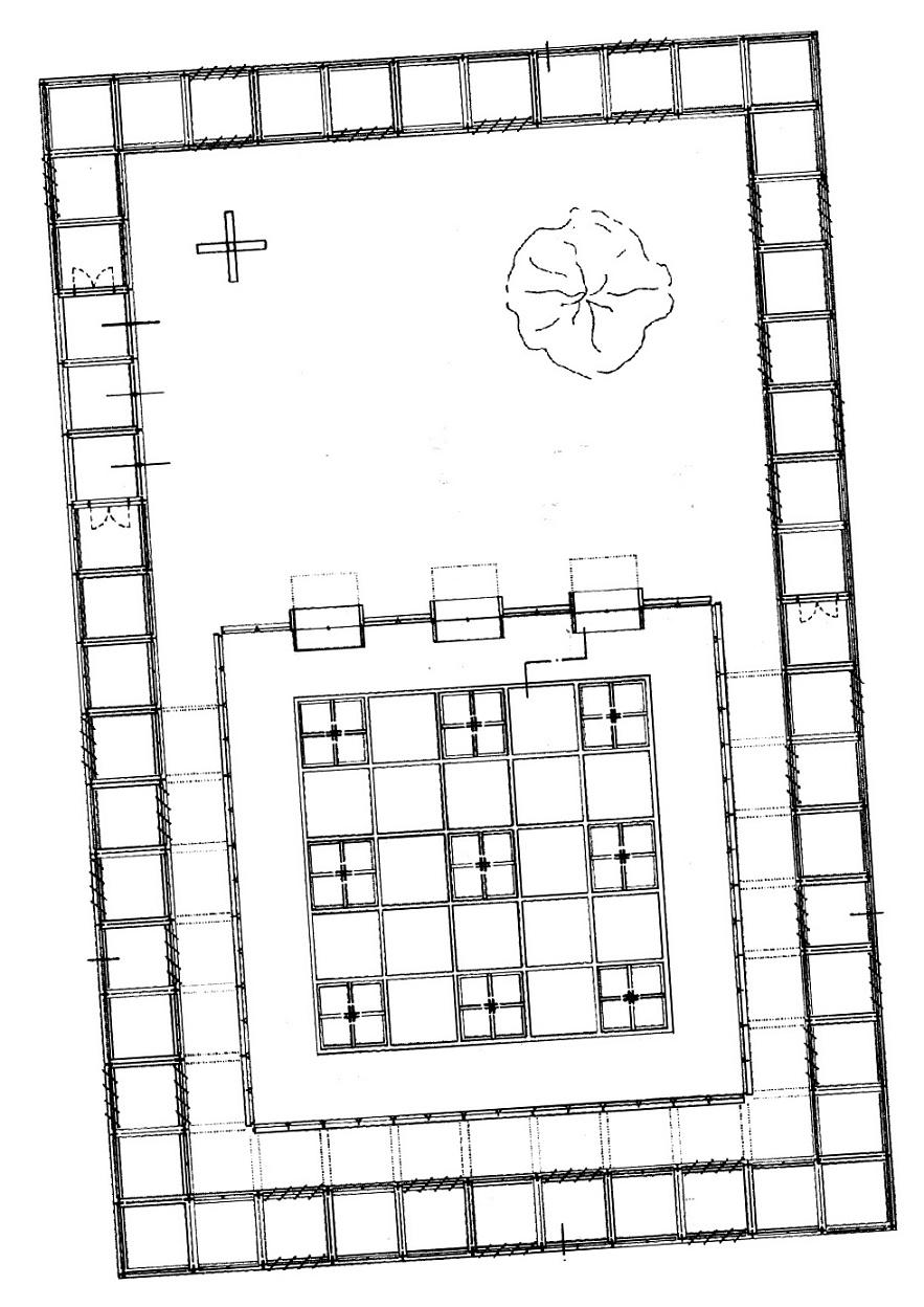 Körner | Christus-Pavillon im Kloster Volkenroda | Grundriss
