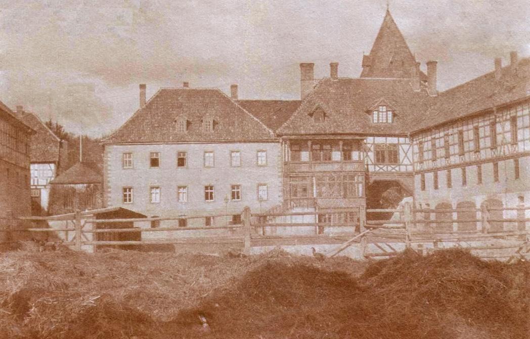 Körner | Kloster Volkenroda | Anlage um 1900 | Foto: Gerhard Hund, aus dem Nachlass von Erika Meyer, GFDL oder CC BY SA 3.0