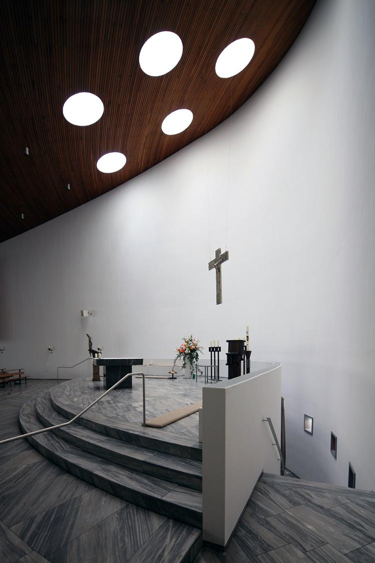 Aachen | St. Gregorius |  Altar der Oberkirche | Foto: Michaela Kalusok/Jürgen Wiener
