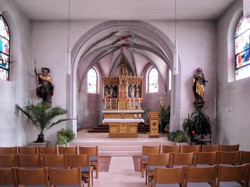 Wenzenbach | St. Peter | historischer Kirchenraum | Foto: Daniel Greb