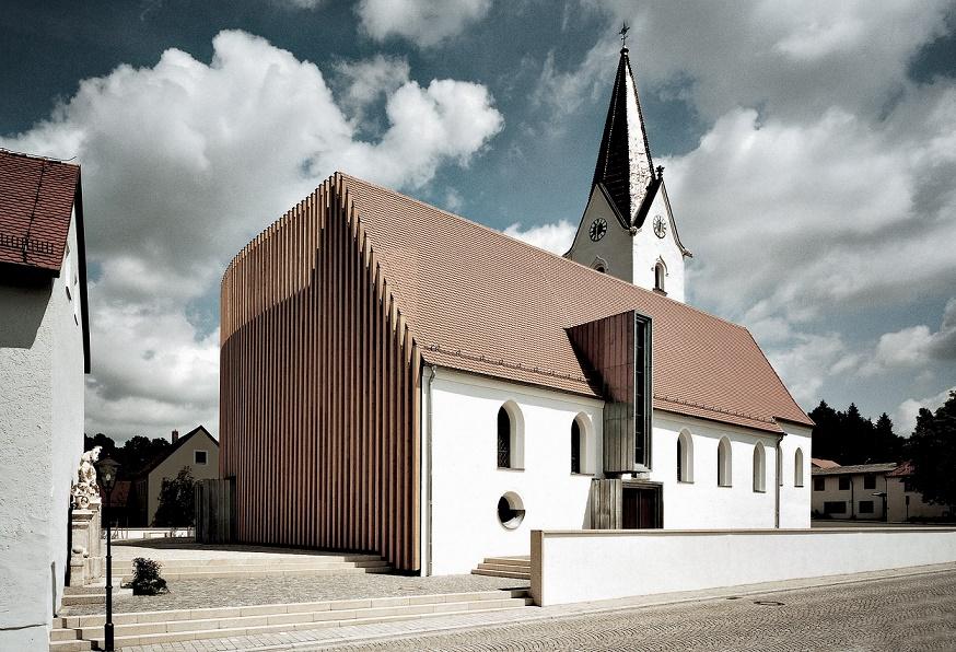 Wenzenbach | St. Peter | Außenbau | Foto: Peter Manev, Selb