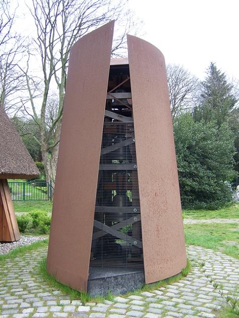 Ahrenshoop | Schifferkirche | Glockenträger | Foto: Klugschnacker, CC BY SA 3.0