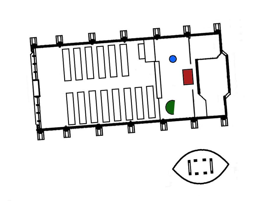 Ahrenshoop | Schifferkirche | Grundriss