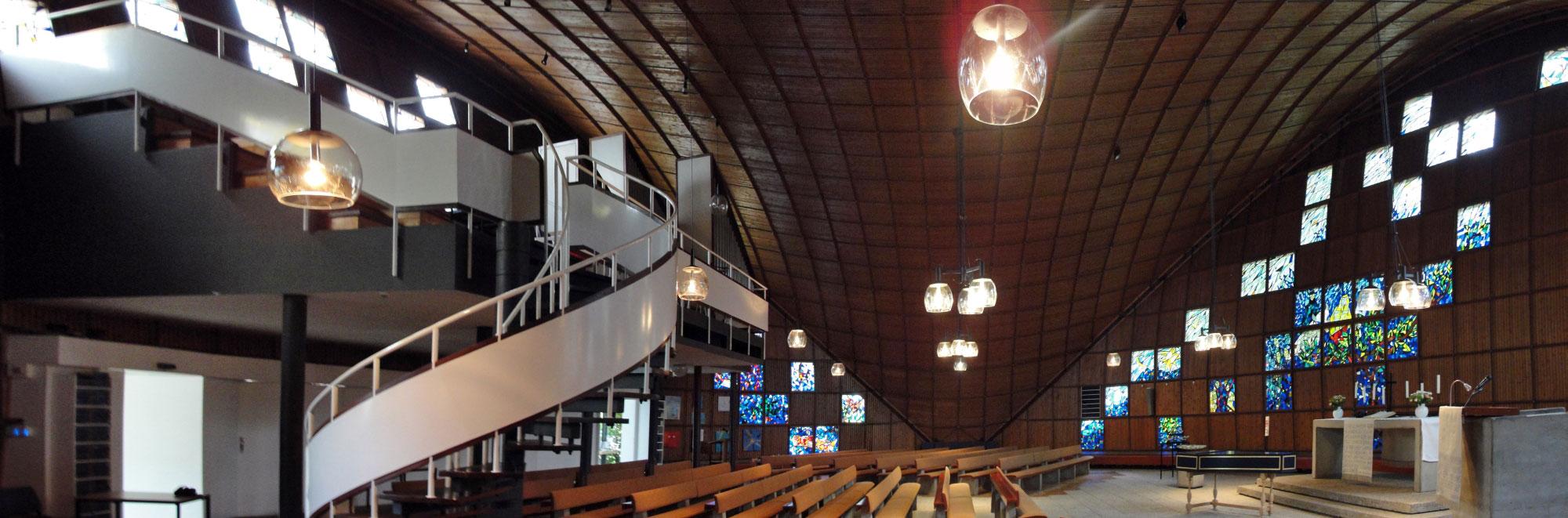 Bremen | St. Lukas | Innenraum | Foto: Oliver Fuhrmann