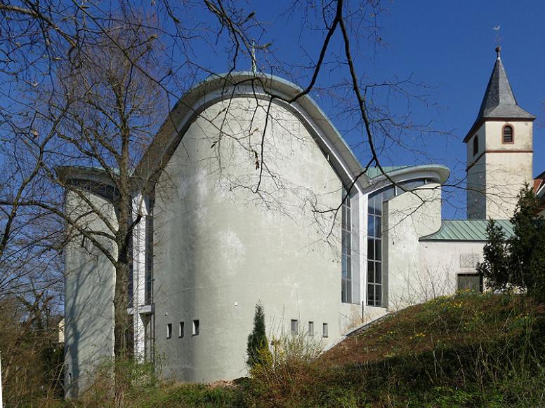 Alzenau-Kälberau | Maria zum rauhen Wind | Außenbau | Foto: Michael Pfeifer, Aschaffenburg