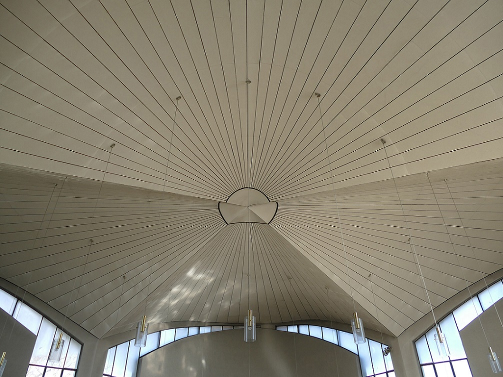 Alzenau-Kälberau | Maria zum rauhen Wind | Kirchendecke | Foto: Michael Pfeifer, Aschaffenburg