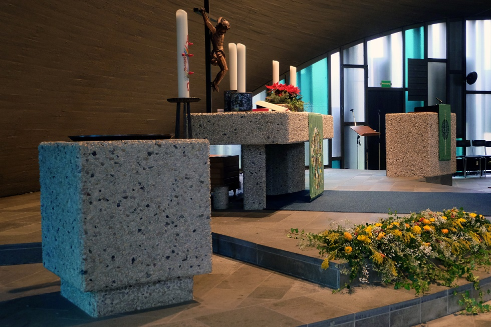 Meerbusch-Büderich | Christuskirche  | Innenraum | Foto: Michaela Kalusok/Jürgen Wiener