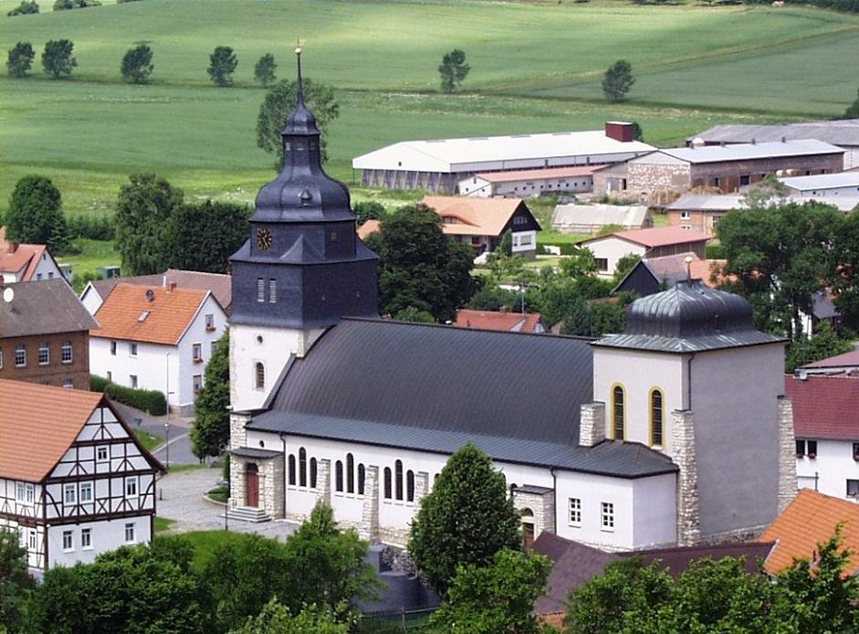 Am Ohmberg-Bischofferode | St. Marien | Foto: Das Archiv für rechnische Dokumente (superborg.de), CC BY SA 2.0