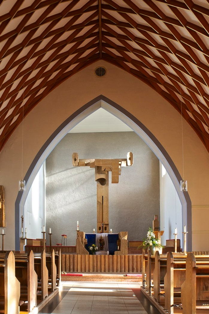 Am Ohmberg-Bischofferode | St. Marien | Innenraum | Foto: Wolfgang Lukassek