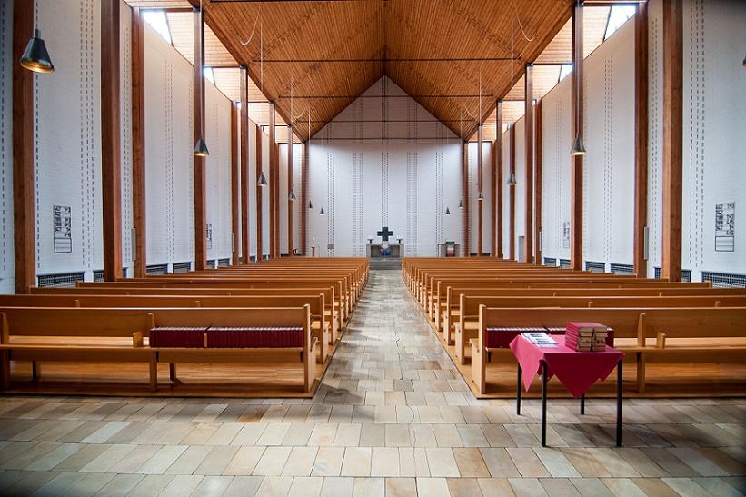 Hanau | Christuskirche | Innenraum | Foto: Gerhard Jost, Bild: Ev. Stadtkirchengemeinde Hanau