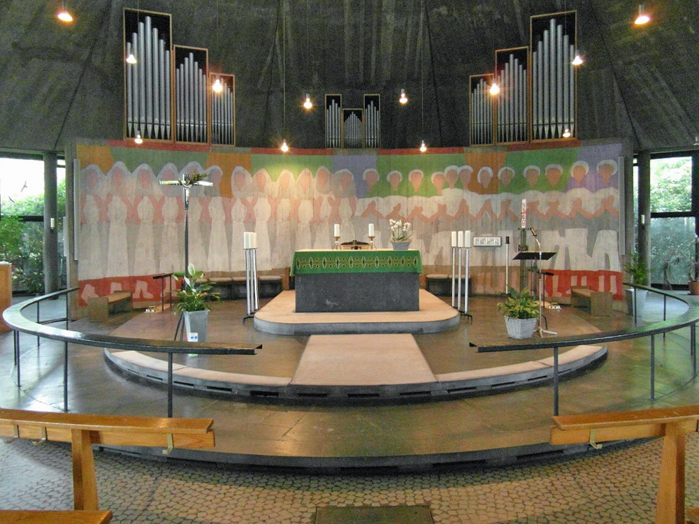 Merzig | St. Josef | Altarraum | Foto: Manuel Uder