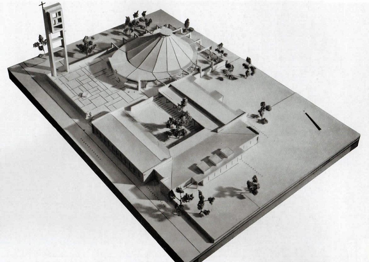 Merzig | St. Josef | Modell | Bildquelle: Festschrift 1959