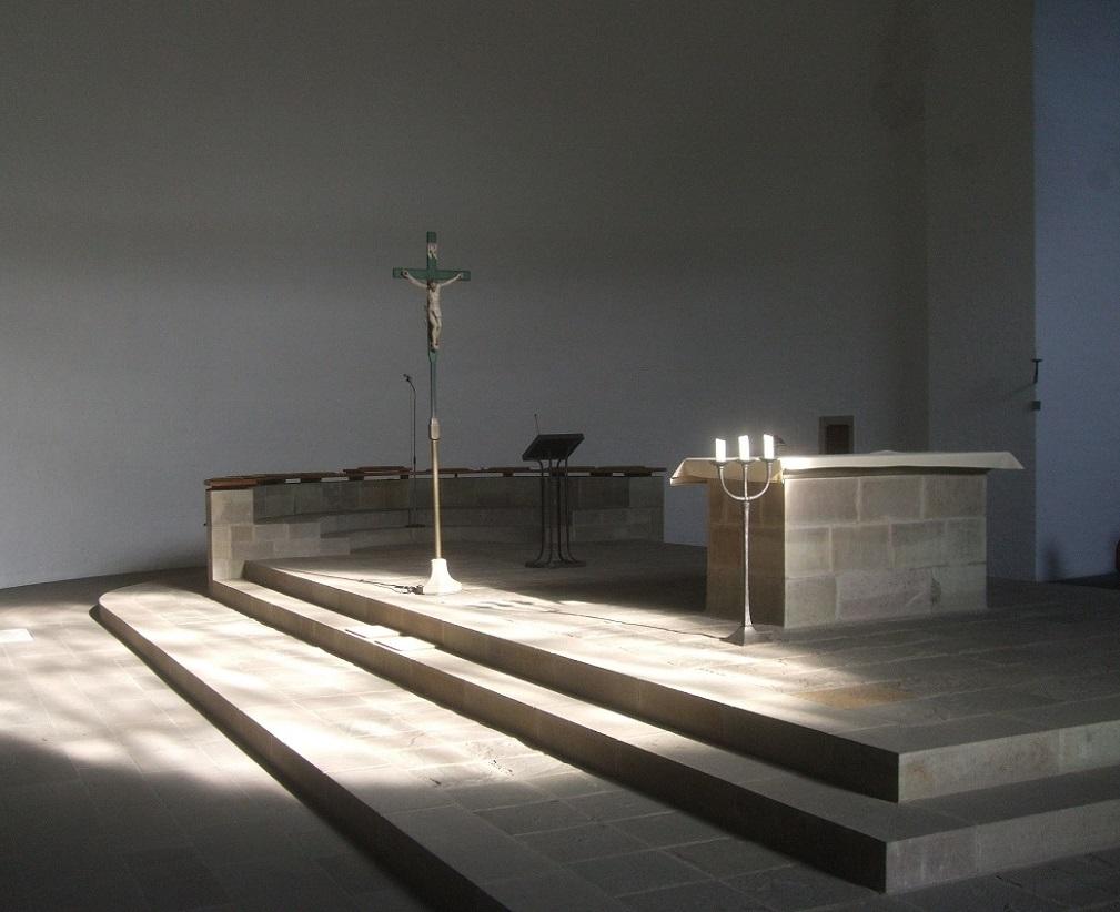 Cochem-Cond | St. Remaclus | Altarraum | Foto: Stefan Heinz, Wittlich
