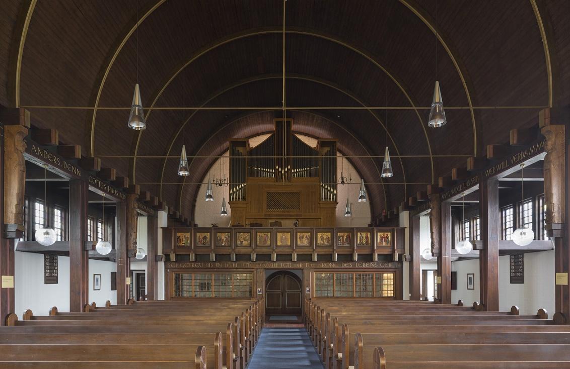 Hamm | Johanneskirche | Orgelempore | Foto: Florian Monheim, Krefeld