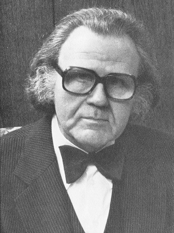 Max Christens | Bildquelle: Max Christens. Architekt BDA-DAI. 1955-1980, Idstein/Taunus 1980