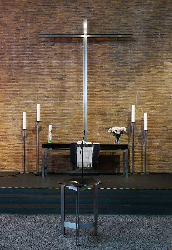 Oberhausen | Markuskirche | Altarraum | Foto: Michaela Kalusok/Jürgen Wiener