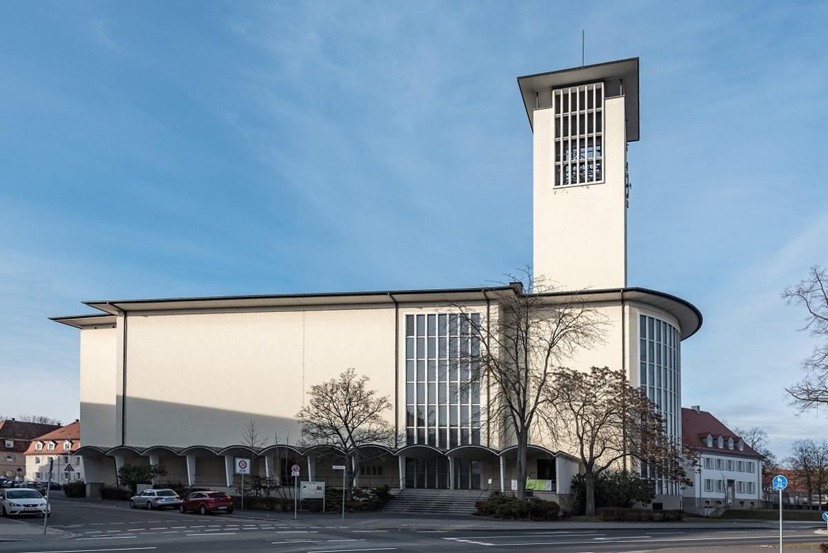 Schweinfurt | St. Kilian | Außenbau | Foto: Tilman2007, CC BY SA 4.0
