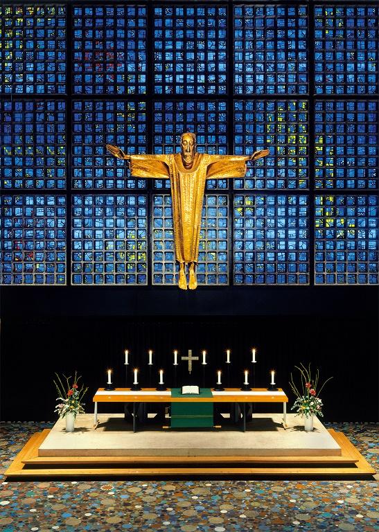 Berlin | Kaiser-Wilhelm-Gedächtnis-Kirche | Kirchenraum | Foto: publicon Verlagsgesellschaft mbH, Katharina Dorn