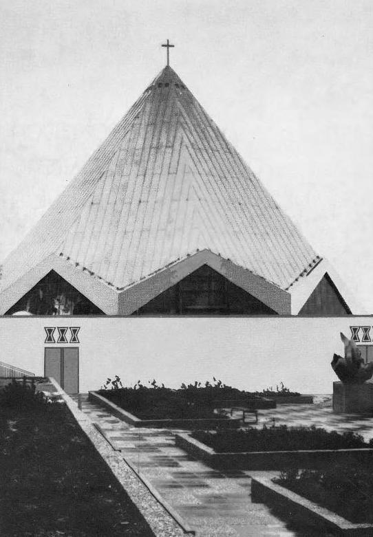 Fulda | St. Paulus | Bau um 1967 | Bildquelle: Einweihungsschrift 1967