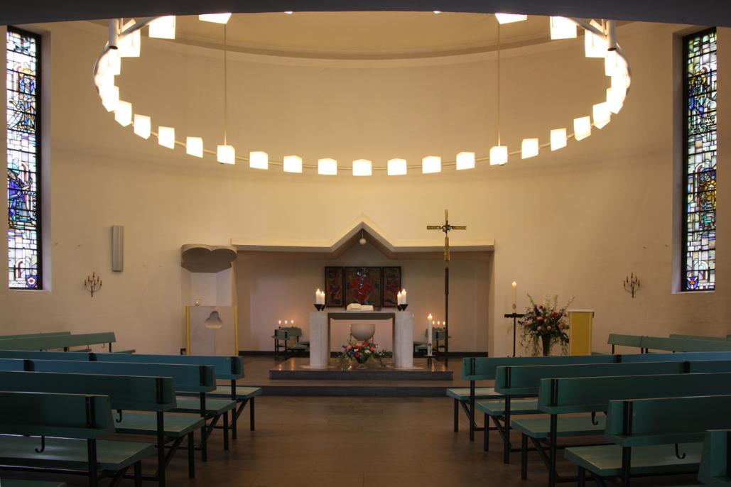 Lauenburg-Aumühle | Bismarck-Gedächtnis-Kirche | Innenraum | Foto: Ev.-Luth. Kirchenkreis Lübeck-Aumühle