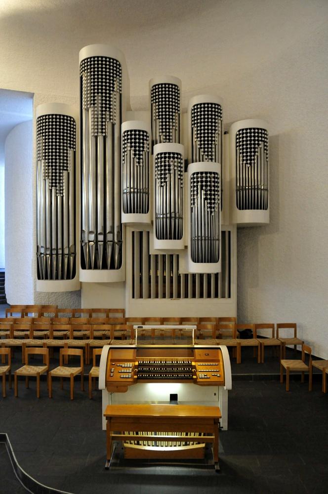 Untermarchtal | Vinzenzkirche | Orgel | Foto: Genossenschaft der Barmherzigen Schwestern vom hl. Vinzenz von Paul in Untermarchtal e. V.