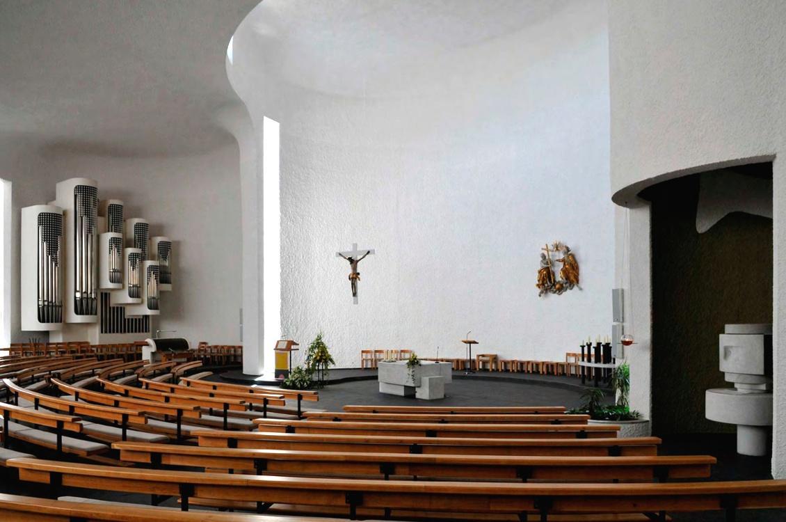 Untermarchtal | Vinzenzkirche | Außenbau | Foto: Genossenschaft der Barmherzigen Schwestern vom hl. Vinzenz von Paul in Untermarchtal e. V.