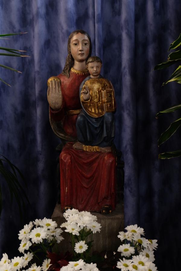Mannheim | St. Konrad | Marienfigur | Foto: Michaela Kalusok/Jürgen Wiener