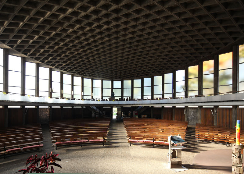 Mannheim | St. Konrad | Innenraum | Foto: Michaela Kalusok/Jürgen Wiener