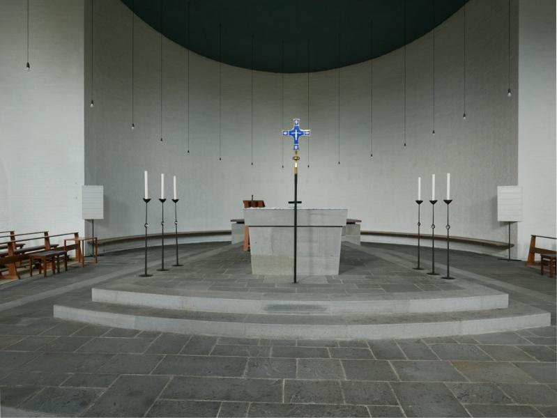 München | St. Laurentius | Altarraum | Foto: Johannes Heimbach, Münster