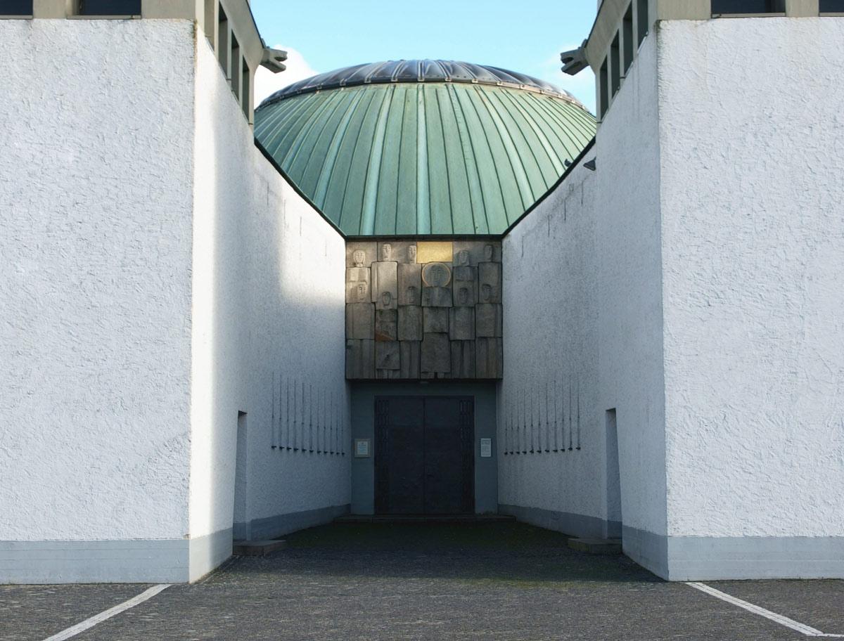 Augsburg | St. Don Bosco | Portal | Foto: S. Angerhausen