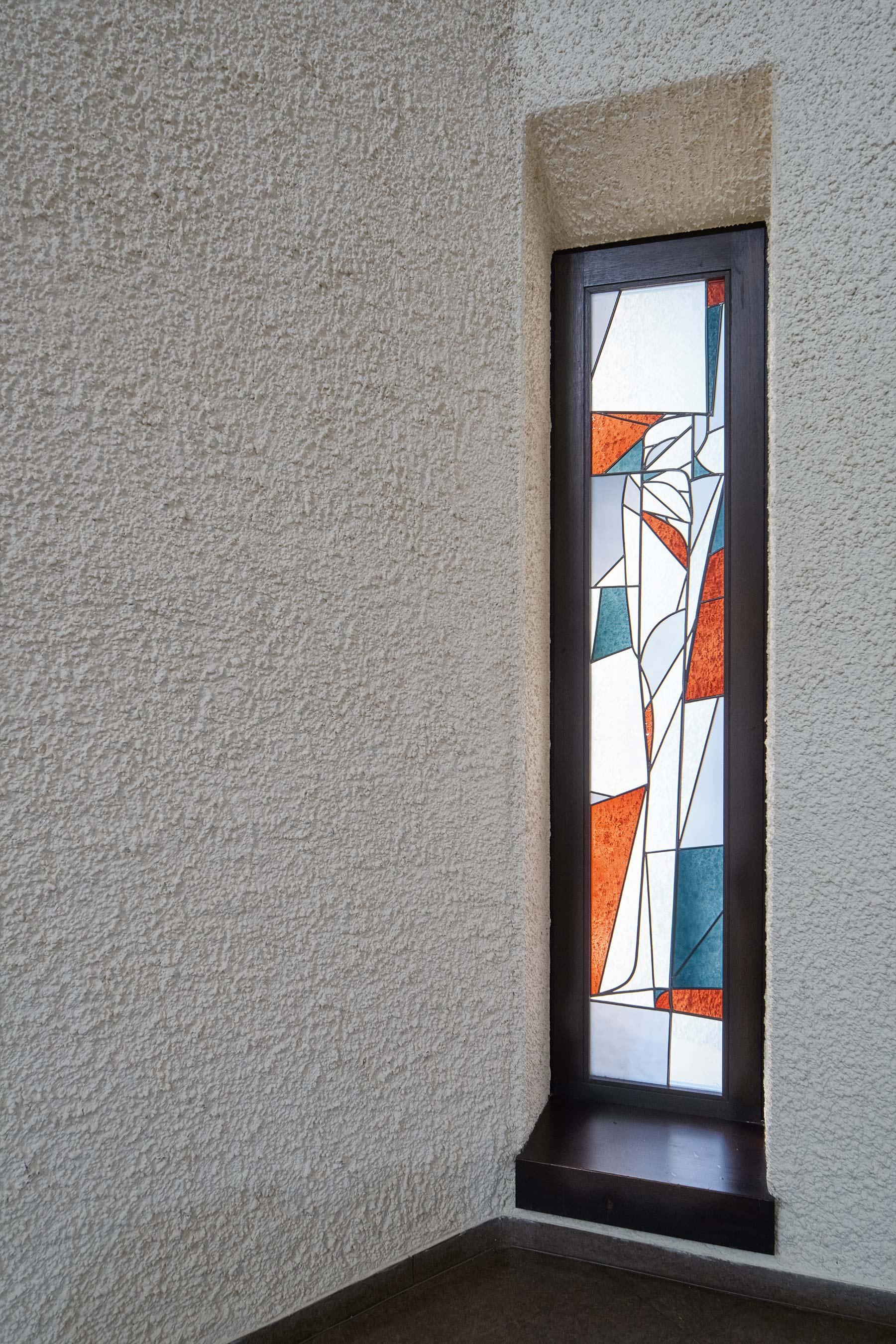 Darmstadt | Ökumenisches Gemeindezentrum | Glasgestaltung | Foto: Marcel Schawe
