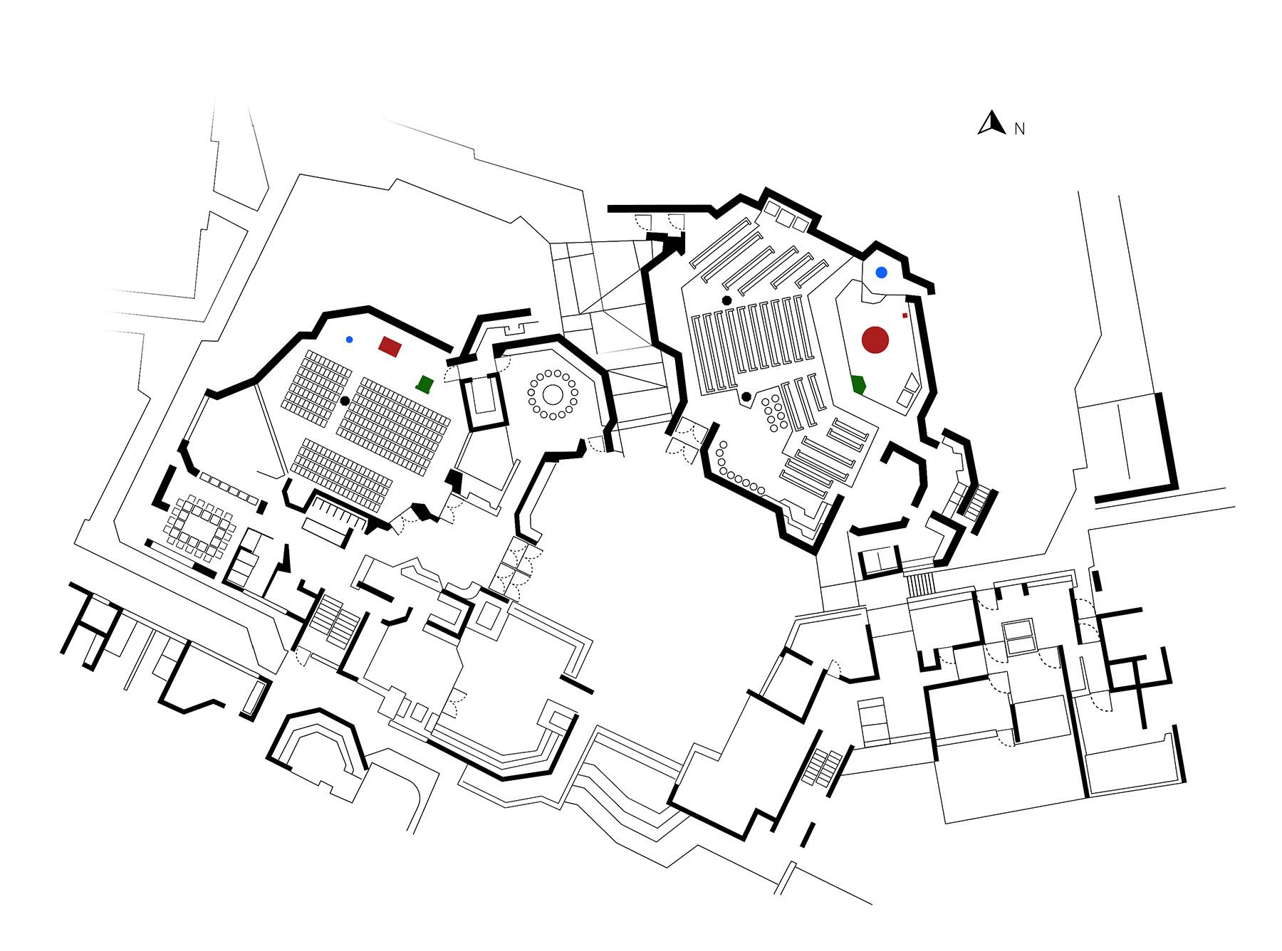Darmstadt | Ökumenisches Gemeindezentrum | Grundriss