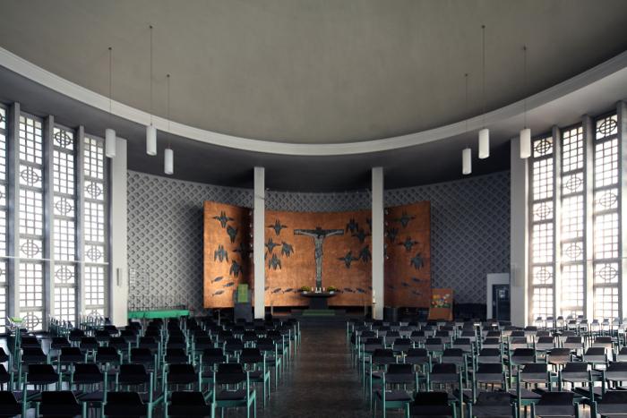 Ludwigshafen | Friedenskirche | Innenraum | Foto: Michaela Kalusok/Jürgen Wiener