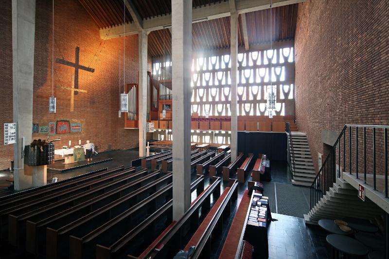 Ludwigshafen | Lukaskirche | Innenraum | Foto: Michaela Kalusok/Jürgen Wiener