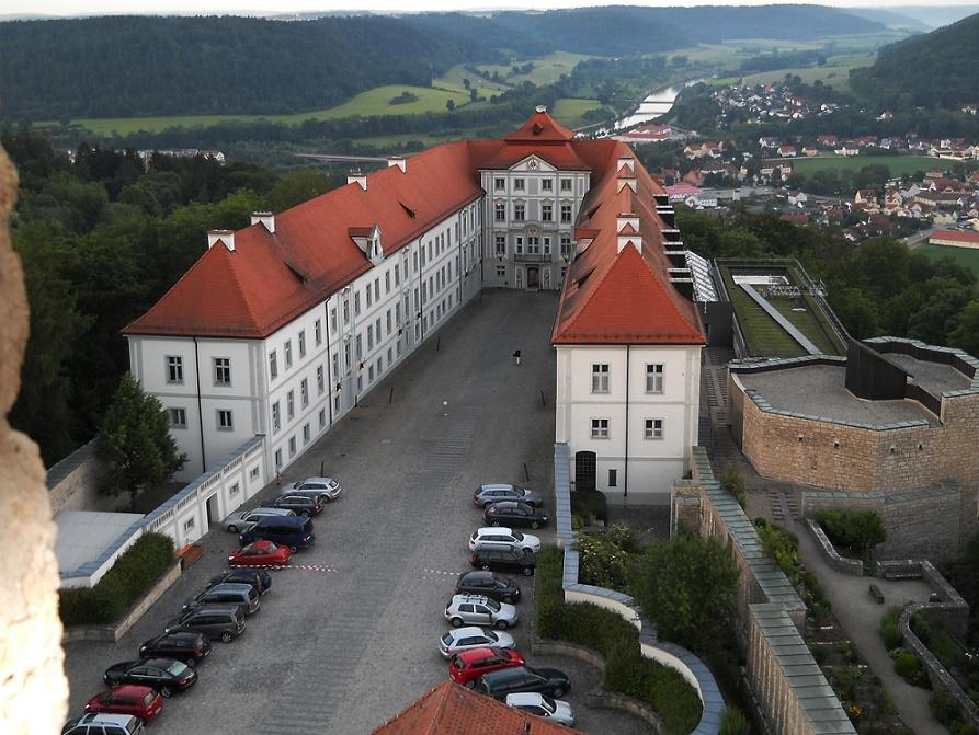 Beilngries |  Schloss Hirschberg | Marienkapelle | Foto: Blackfalcon, PD
