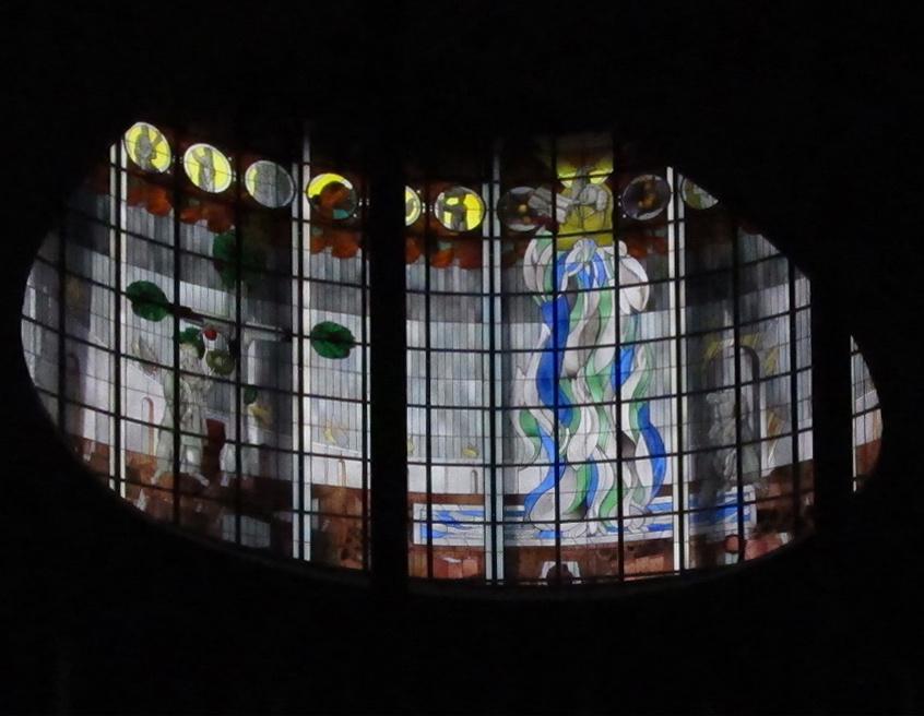 Saarbrücken | St. Albert | Glasgestaltung | Foto: atreyu, CC BY SA 3.0