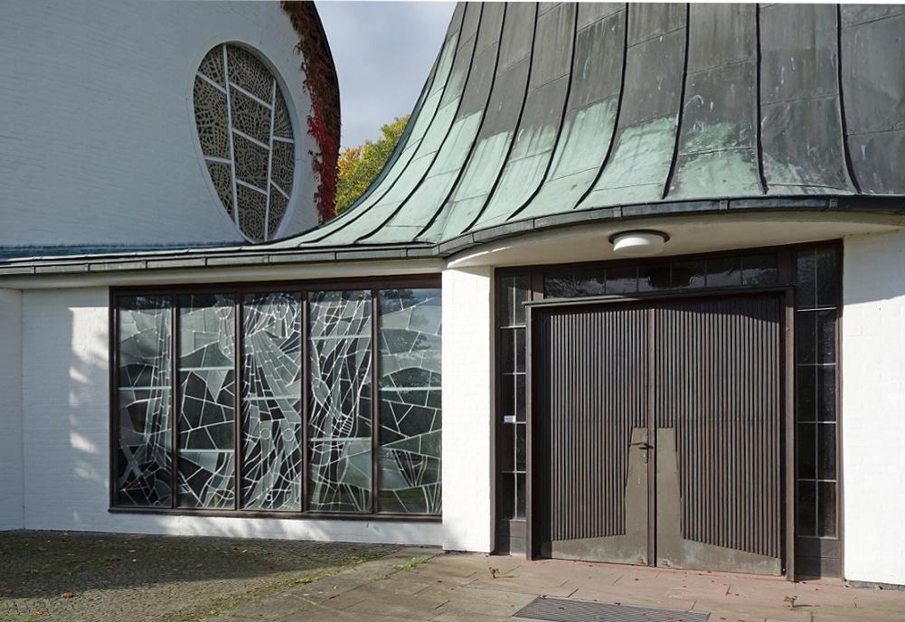 wolfsburg pauluskirche stra e der modernestra e der. Black Bedroom Furniture Sets. Home Design Ideas