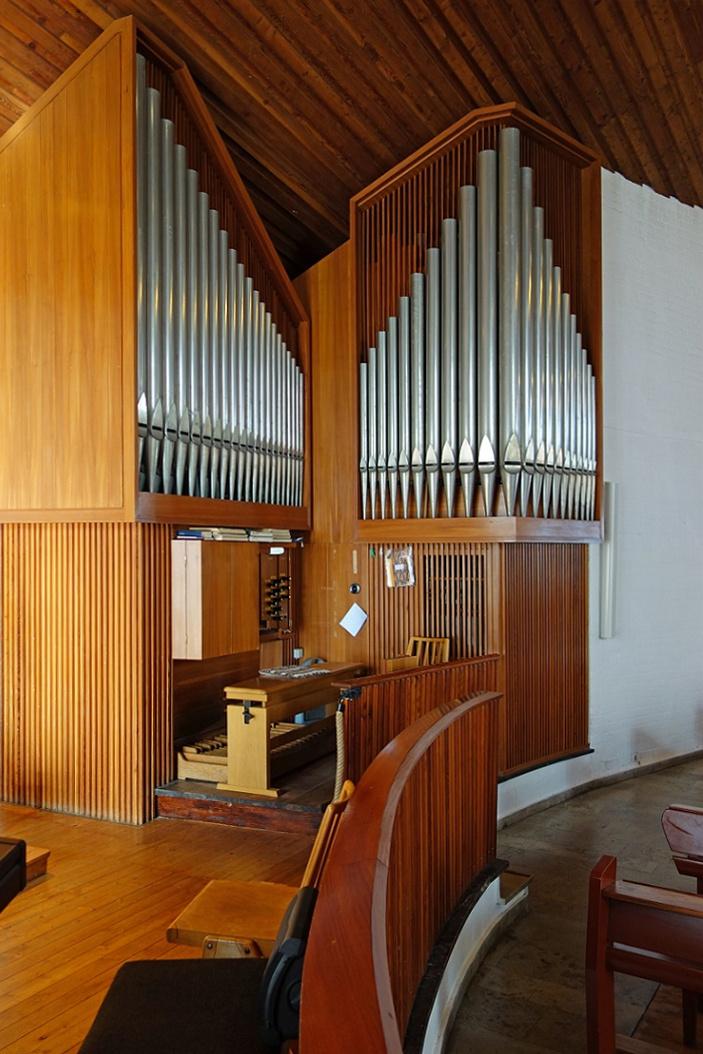 Wolfsburg | Pauluskirche | Orgel | Foto: K. Reichardt