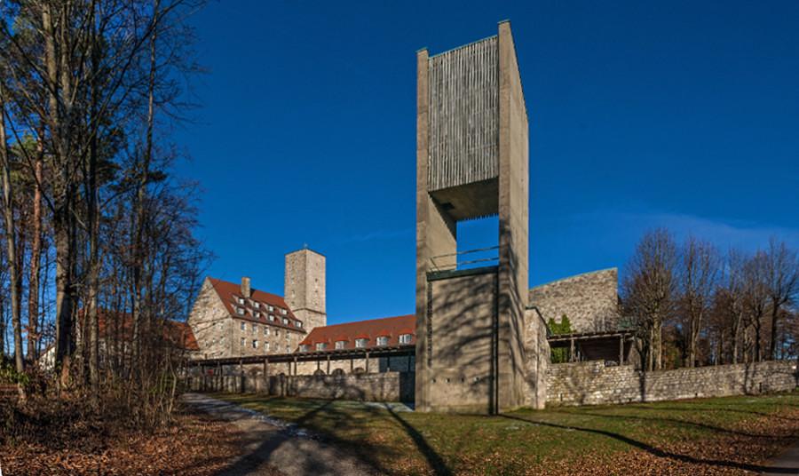 Ebermannstadt | Burg Feuerstein | Außenbau | Foto: Derzno, CC BY SA 3.0