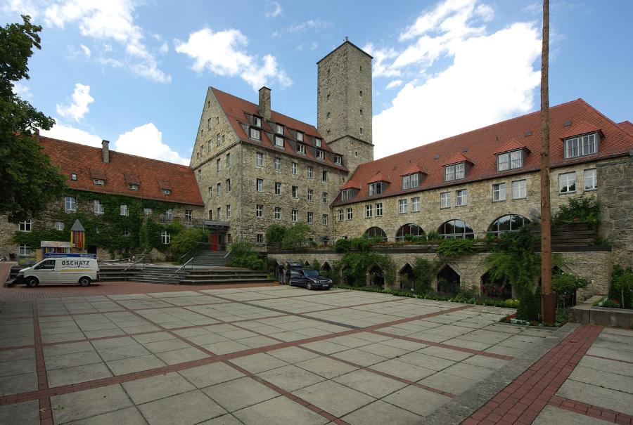 Ebermannstadt | Burg Feuerstein | Außenbau | Foto: Janericloebe, GFDL oder CC BY SA 3.0